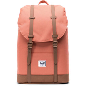 Herschel Retreat Mid-Volume Backpack apricot brandy/saddle brown